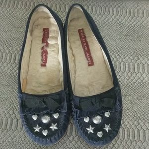 Navy/Black suede shoes. Marc by Marc Jacobs. 38.5